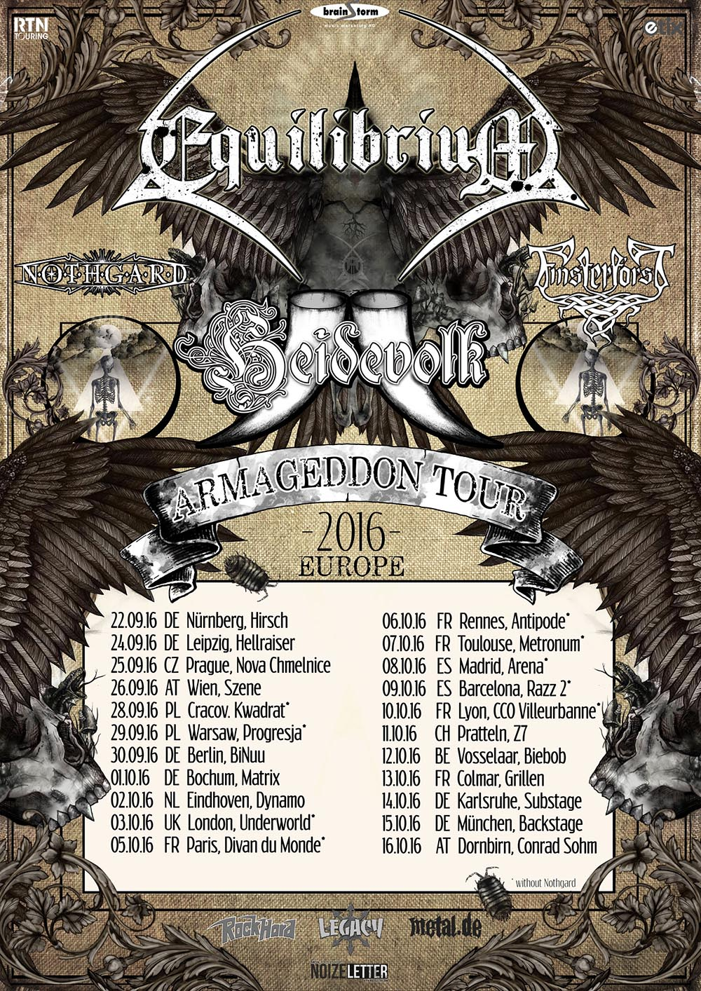 Equilibrium Official Website Equilibrium On Tour With